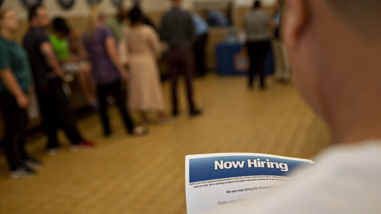 US jobs surge despite the shutdown
