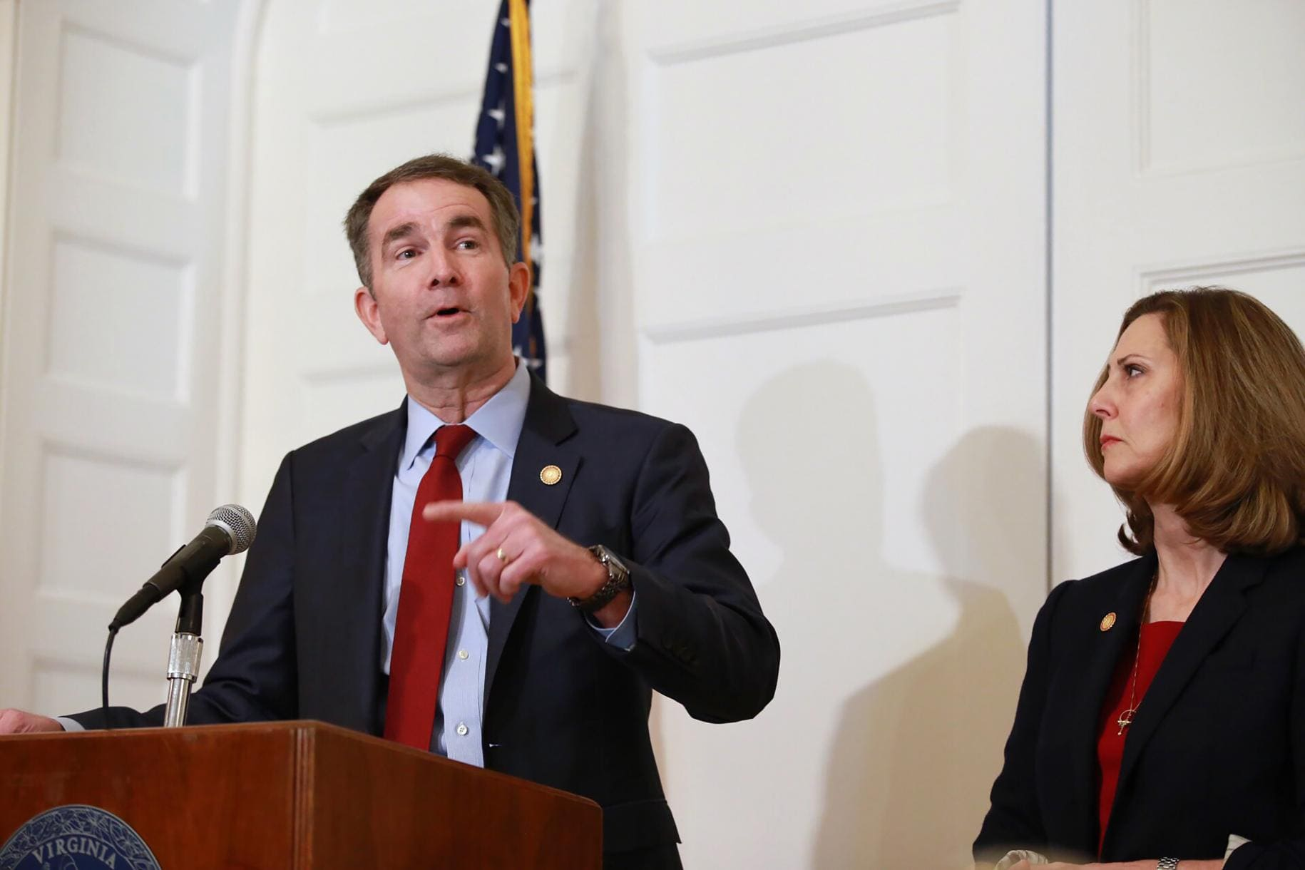Ralph Northam Denies He's in Racist Photo, Voice for his Resignation Grow