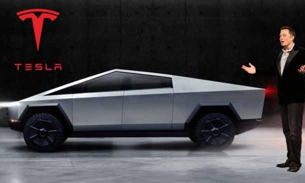 Elon Musk Unveils Tesla's Latest Vehicle Cybertruck