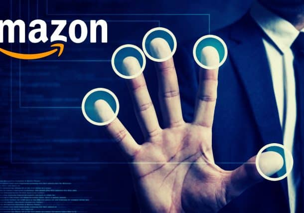Amazon Files a Patent for a Touchless Hand Recognition Technology