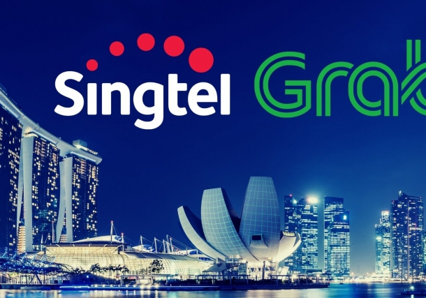 Grab to Team Up With Singtel for Singapore Digital Bank License