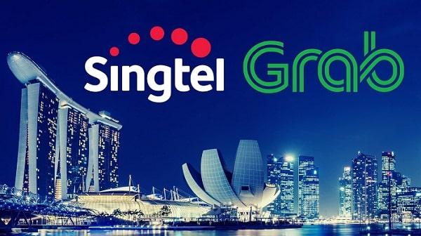 Grab Singtel