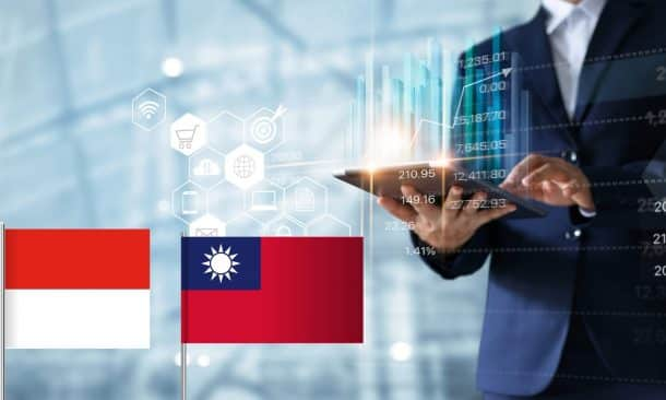 Indonesia and Taiwan Express Willingness to Enhance Economic Cooperation
