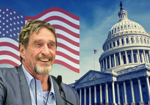 John McAfee Explicitly Links His Bid for the US President